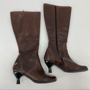 John Fluevog fellowships Nicky brown boots RARE